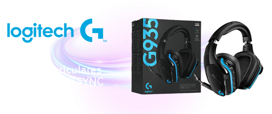 Auriculares Logitech G935 LIGHTSYNC