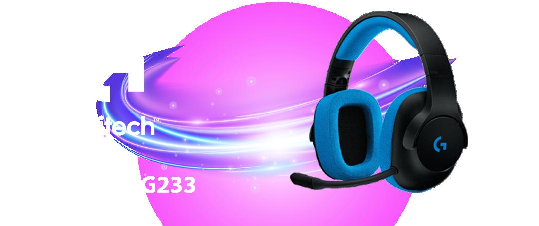 Auriculares Logitech G233