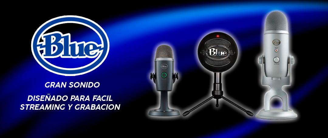 MIcrófonos Blue